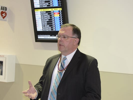 Tom Miller, Austin Straubel International Airport director