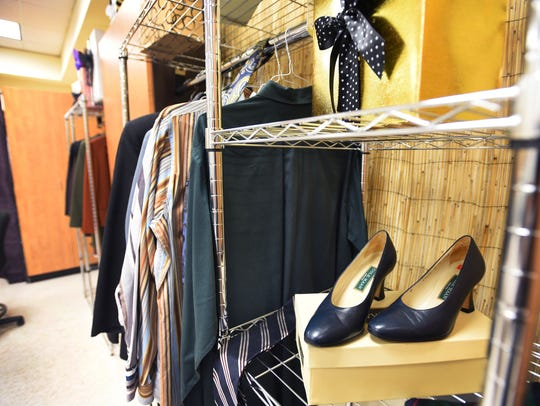 "The boutique ""career closet"" at Bergen Community College"