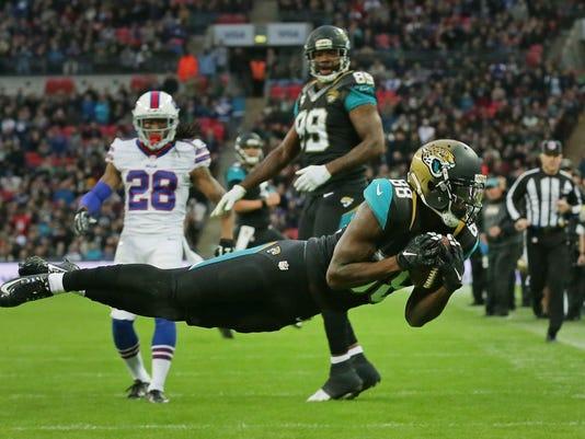 Britain Bills Jaguars Football