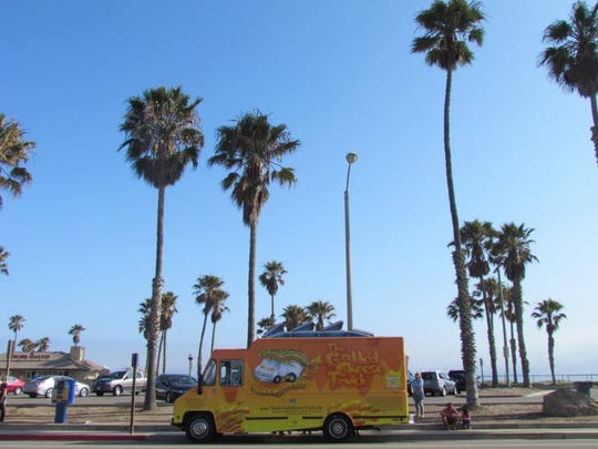 The Hueneme Beach Sunset Supper food-truck event is billed as the only such Ventura County gathering located just steps from the sand. It takes place on the second Tuesday of the month through October.