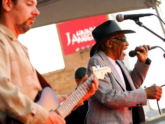Mac Arnold and Plate Full O' Blues will perform at Block Party in Anderson in 2018.