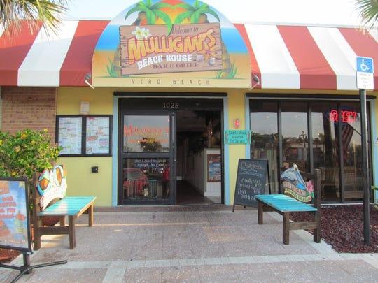 Mulligan's Beach House Bar & Grill has four Treasure Coast locations: Stuart, Jensen Beach, Vero Beach and Sebastian.