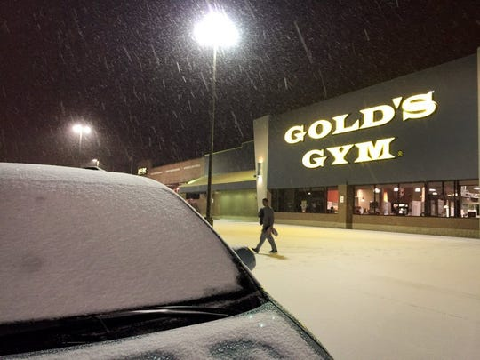 This Gold's Gym location is on Kingston Pike at Canton Hollow Road in West Knoxville.