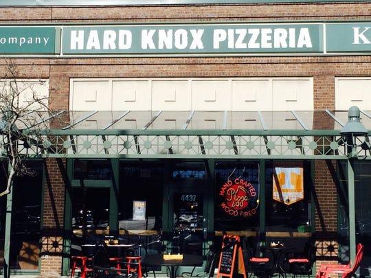 Hard Knox Pizza is at 4437 Kingston Pike.