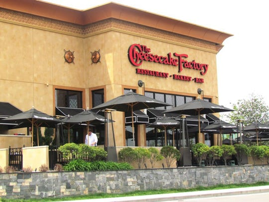 The Cheesecake Factory offers more than 30 cheesecake varieties.