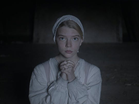 "Anya Taylor-Joy stars as Thomasin in ""The Witch."""