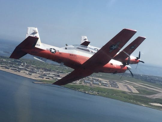 Caller-Times file AIR SHOW: Wings Over South Texas will be from 11 a.m. to 5 p.m. Saturday, April 9, and Sunday, April 10, at Naval Air Station Kingsville at East General Cavazos Boulevard. Gates open at 8 a.m. Midway and Kid zone open at 9 a.m. Cost: Free. Information: www.wingsoversouthtexas.com.