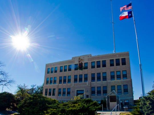 Irion County Courthouse in Mertzon. Photo courtesy Ken Grimm