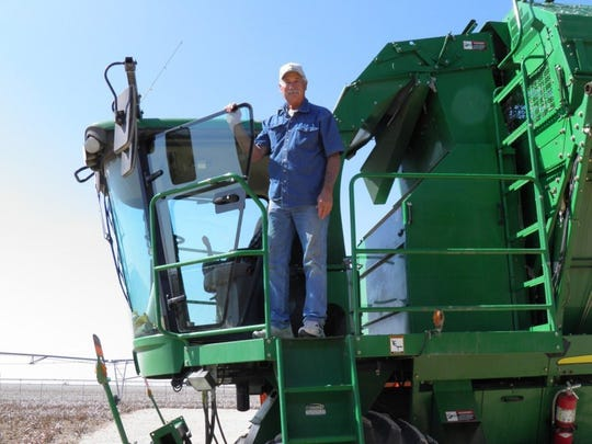 Michael Hoch has been farming in West Texas for nearly 45 years.