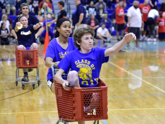 Color Day activities are underway Friday, April 29,