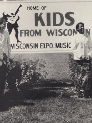 The original 1969 Kids from Wisconsin pose at State Fair.