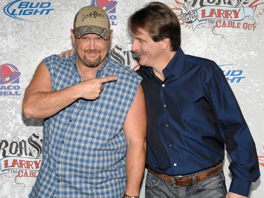 Larry the Cable Guy, Jeff Foxworthy