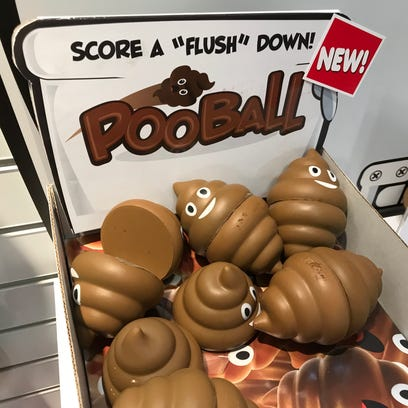 The PooBall by Fairfield-based Alex Brands
