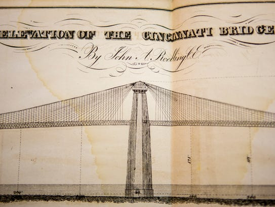 This document illustrates the original bridge design