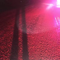 River of red Skittles coats Wisconsin highway