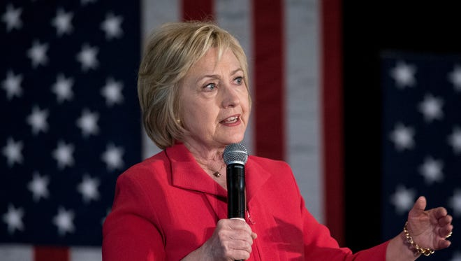 May 16, 2016 -- Bowling Green, Ky. --Democratic Presidential Candidate Hillary Clinton visited residents of Bowling Green, Ky. on Monday, May 16, 2016 during a rally the day before the Kentucky primary elections. The event took place downtown during the lunch hour at La Gala on State Street.