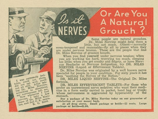 Is it nerves or are you a natural grouch?