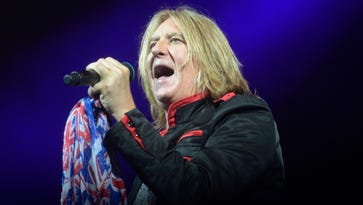 Lead singer Joe Elliot and the rest of Def Leppard will perform Tuesday at Bridgestone Arena.