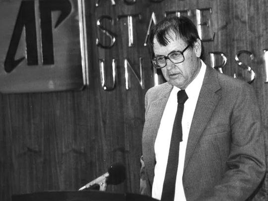 George Fisher, pictured in 1987.