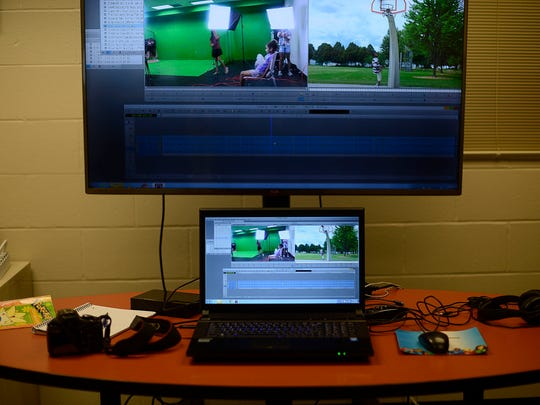 New state-of-the art video production suite and editing suite inside the Boys & Girls Club of Green Bay's Lutsey Clubhouse in Green Bay.