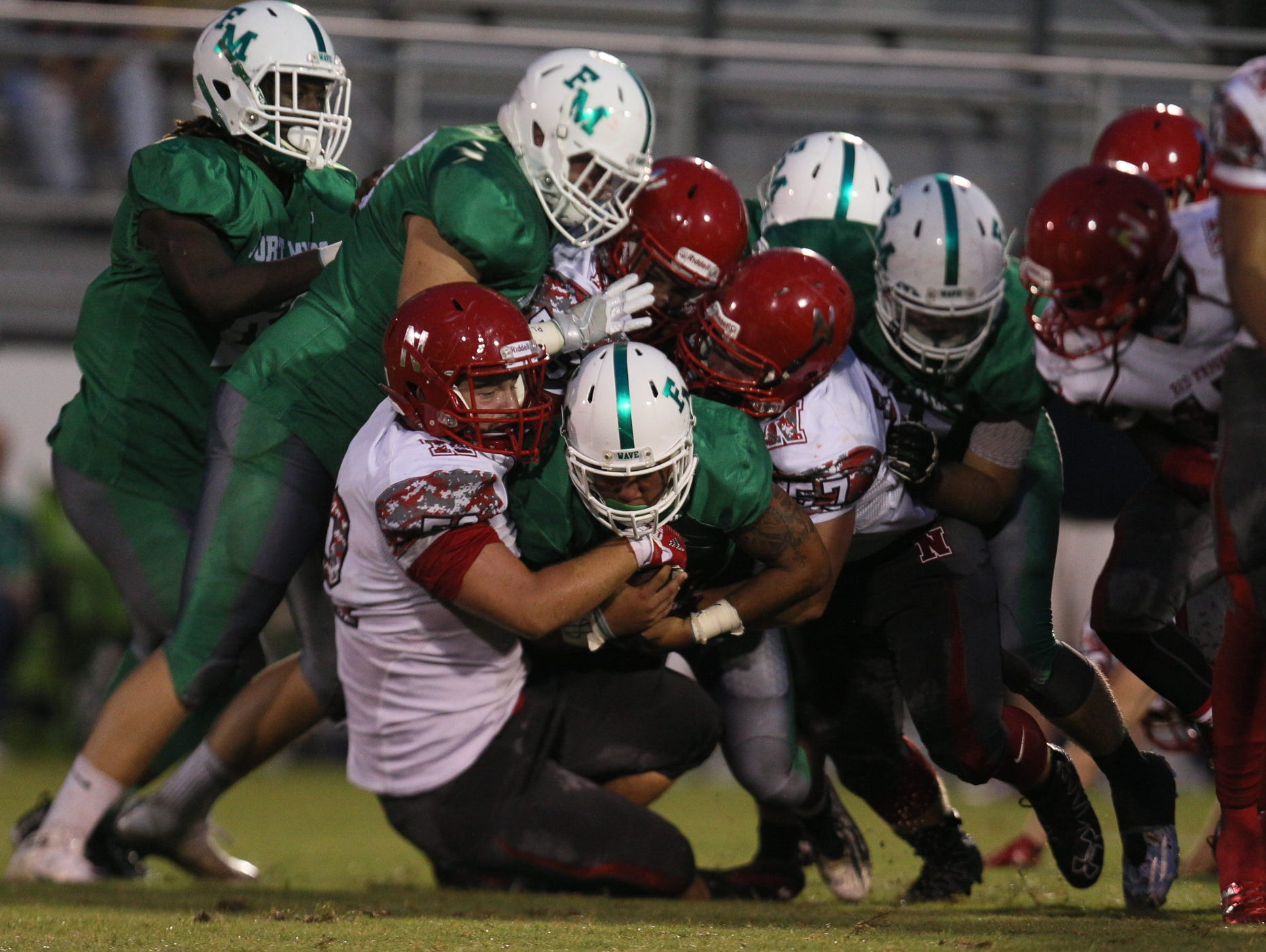 North Fort Myers (3-1) jumped to No. 2 in the Lee County Fab 5.