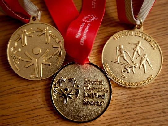 Stefanie Sarason has earned numerous Special Olympics
