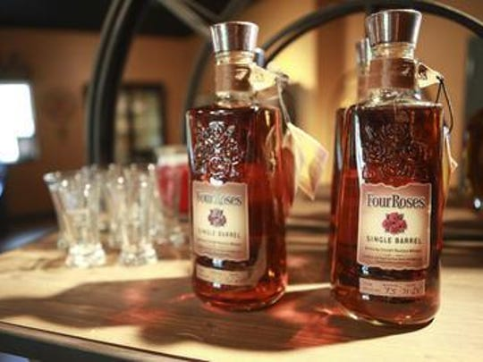 Four Roses Bourbon.