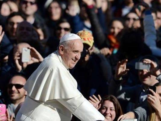 Photo 1 -- pope visit
