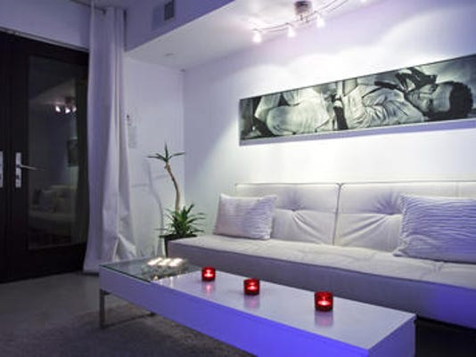 Derek Pasieka renovated a run-down apartment complex near downtown Phoenix turning the 300M into nine units from 14, while adding an art gallery and a community gathering room. Phoenix-area apartments and rental homes remain affordable compared to those