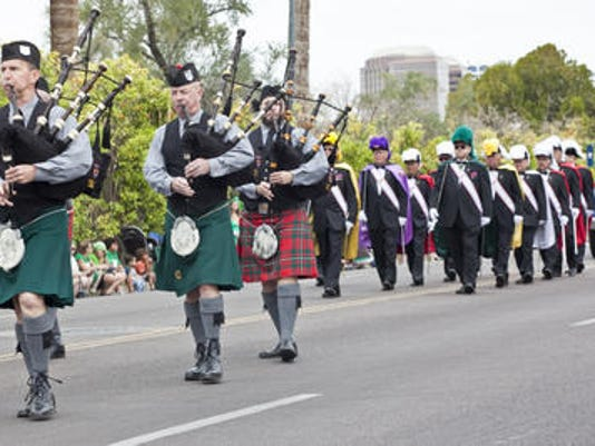 St. Patrick's Day Parade in Phoenix