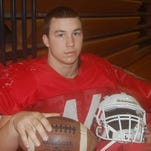 FOOTBALL: Hallowell has nose for the ball
