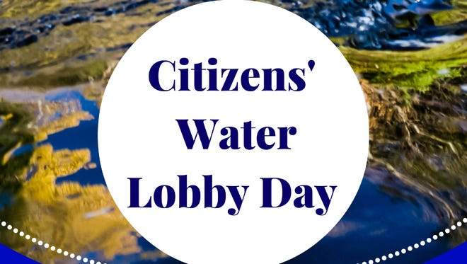 Citizens' Water Lobby Day will be held from 11:30 a.m. to 3:20 p.m. Feb. 8 in room 412 East (Joint Finance Committee room) at the State Capitol in Madison.