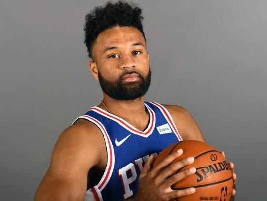 Philadelphia 76ers guard James Blackmon Jr.