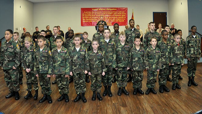 Bossier Sheriff's Young Marines Class 31.