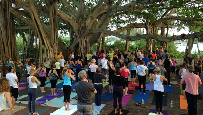 TWILIGHT YOGA AT THE LIGHT -Experience the serenity of Yoga with Mary Veal on the Lighthouse Deck at sunset every Monday. This is an all levels class and beginners are welcomed and encouraged! $10 donation per person. Scheduled for 7 p.m., bring a yoga mat, water bottle and a flashlight. Meet at the Jupiter Inlet Lighthouse & Museum,500 Captain Armour's Way in Jupiter,10 minutes prior to start time. Check website for updates and future start times. For more information, call 561-747-8380 or go online to http://www.jupiterlighthouse.org.