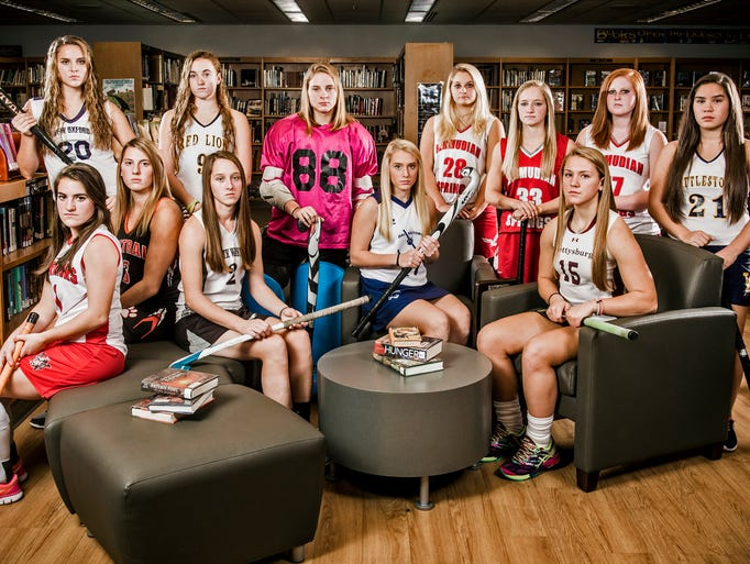 Seated row, from left to right: Susquehannock's Camryn