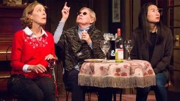 "Nancy Boykin, Carla Belver and Jing Xu in the Philadelphia premiere of ""John"" by Pulitzer Prize-winning playwright Annie Baker."
