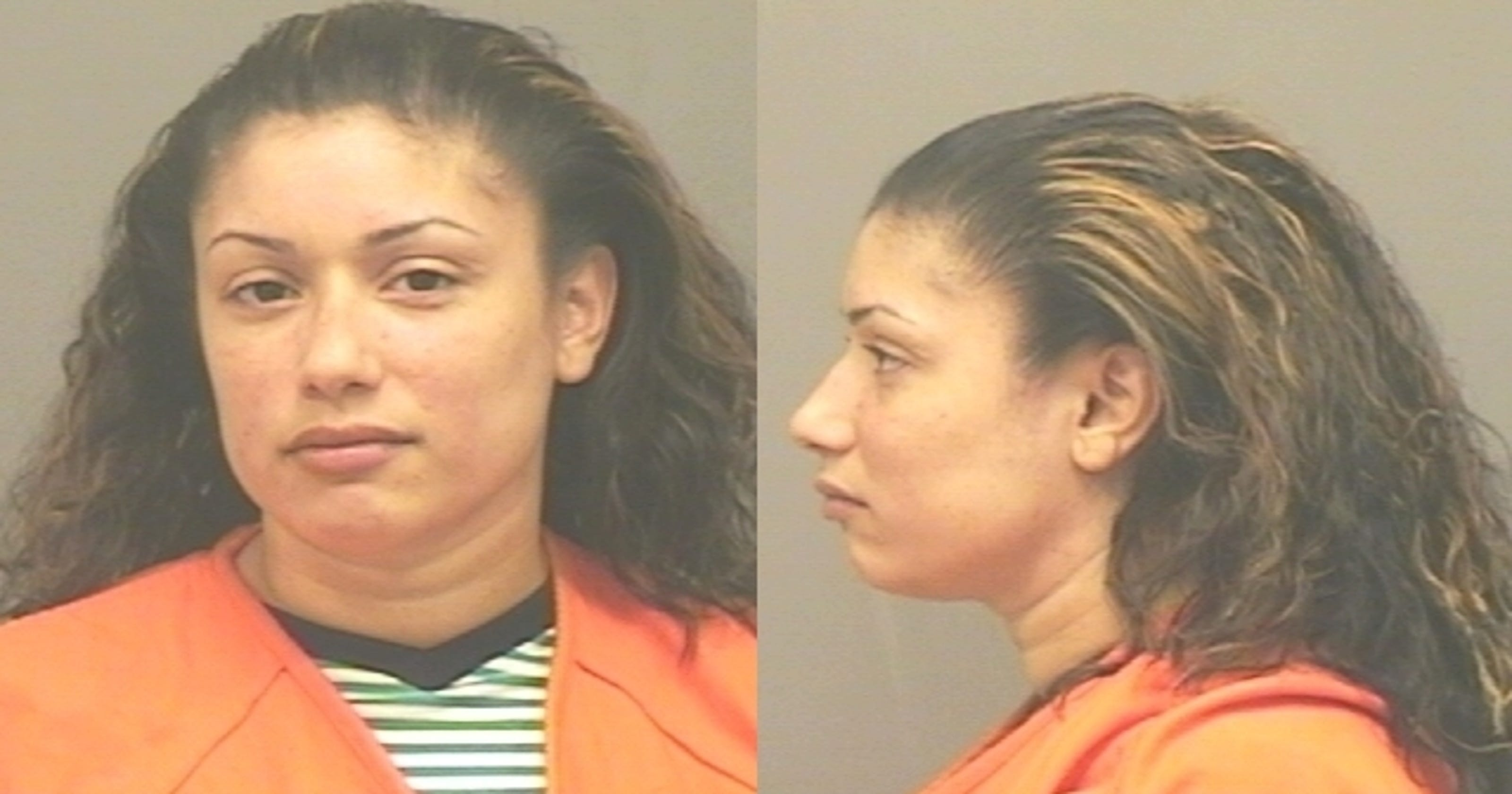 Warrant: woman hit brakes to get kids off car