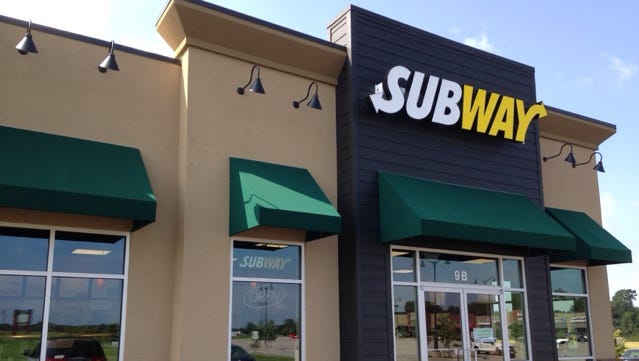 Subway at 9 Chloe Place in Park Place West is seen in this file photo.