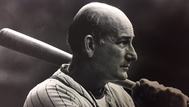 Delaware Sports Hall of Famer Bob Immediato, who died Saturday, is shown in 1986.