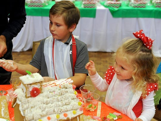 Nonprofit Center fundraiser gives children a chance to decorate gingerbread houses