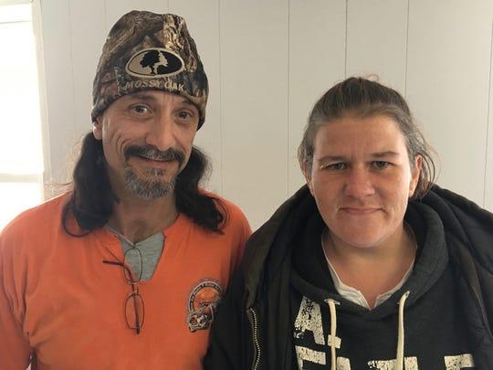 James Brown and Stephanie Bishop, of Waynesboro, both