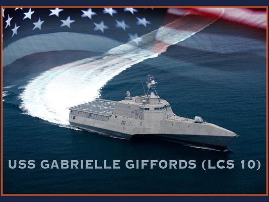 Photo_illustration of USS_Gabrielle_Giffords_(LCS_10)