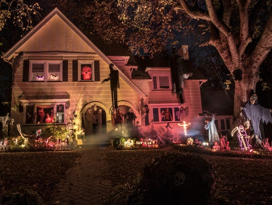 Steve Vaccariello's home on Beech Spring Road in South