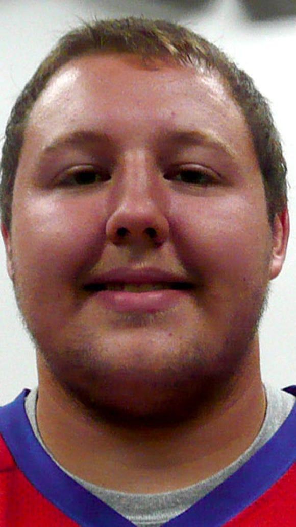 Brock Hartman, New Oxford offensive lineman