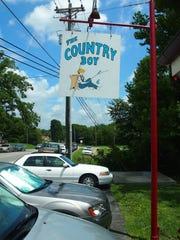 Country Boy restaurant in Leiper's Fork.
