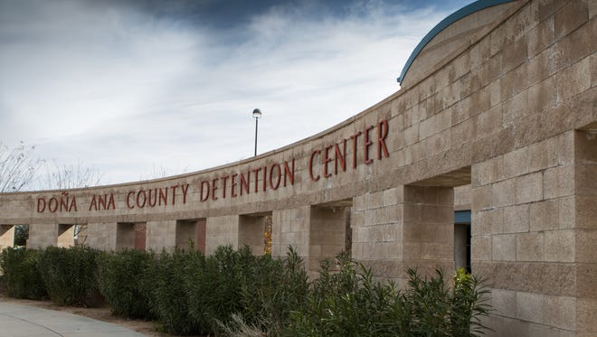 The Doña Ana County Detention Center can house about 850 detainees.