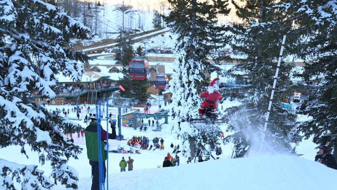 Events like the recent Dummy Gelunde make a day at Ski Apache even more fun.