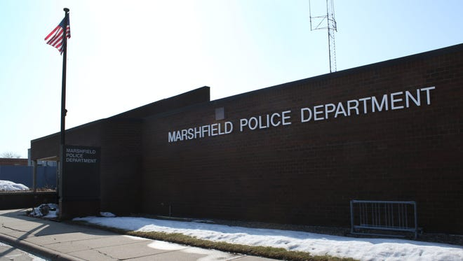 The exterior of the Marshfield Police Department seen on March 7, 2016.