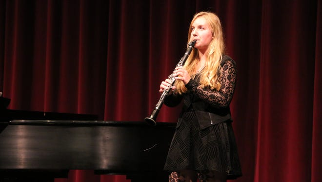 Kelsey Zetzl competes in the Richmond Symphony Orchestra's Young Artist Competition. She will play Sunday with the orchestra.